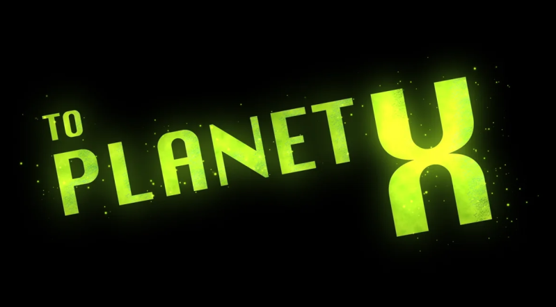 To Planet X Logo text